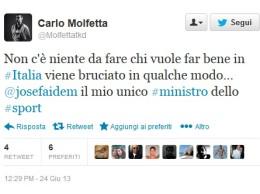 Tweet-Molfetta