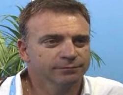 Il ct del Setterosa Fabio Conti