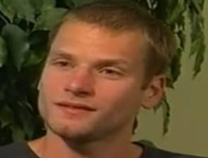 Schwazer durante un'intervista al Tg1
