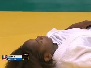 Judo: Edwige Gwend