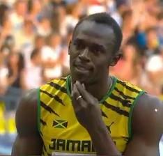 Usain Bolt in un'immagine tratta dalla Rete