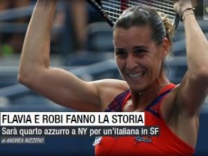 Tennis: Flavia Pennetta