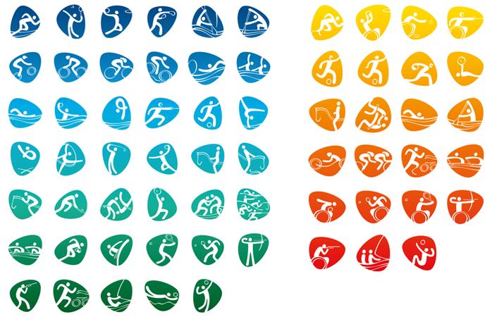 Rio2016-Pictograms