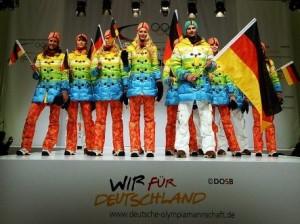 Sochi 2014 - le divise della Germania