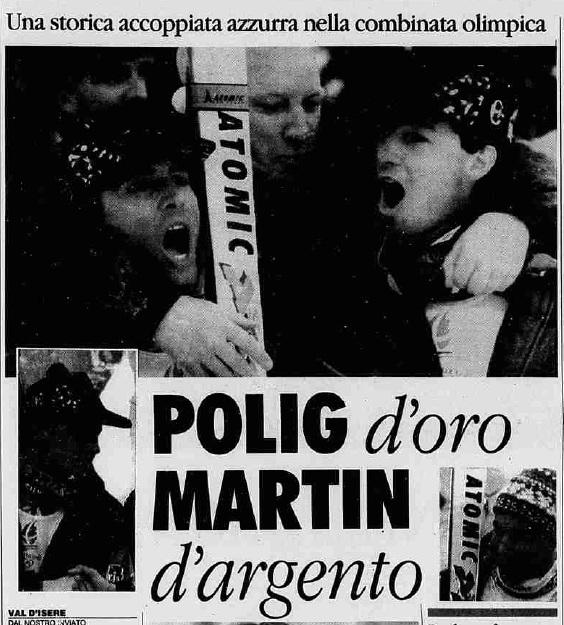 La Stampa - 12 febbraio 1992