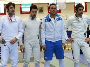 La squadra italiana (Foto:Augusto Bizzi)