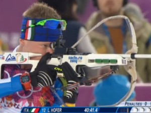 Sochi 2014: Hofer pronto per la Mass Start di Biathlon