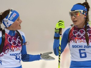 Karin Oberhofer e Dorothea Wierer (Foto:Augusto Bizzi)