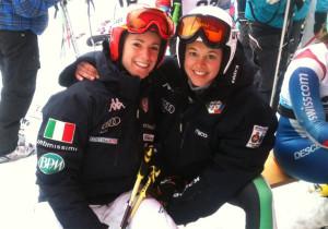 Marta Bassino e Karoline Pichler (Foto:FISI)