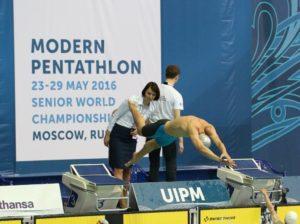 Una fase del recente mondiale di Mosca su pentathlon.org