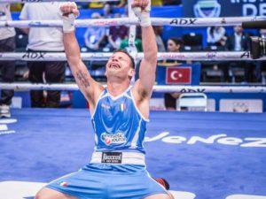 Tommasone e la gioia per la qualificazione olimpica.