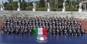 La foto di Italia Team sul sito www.rio2016.coni.it