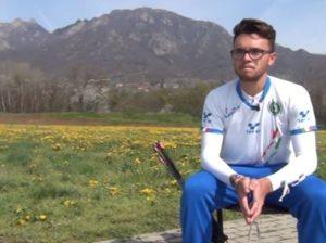 David Pasqualucci intervistato dall'agenzia alanews (foto alanews)