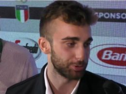 Garozzo alle interviste a Casa Italia (alanews)