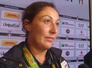 La bacosi nella notte italiana alle interviste a Casa Italia (foto alanews)