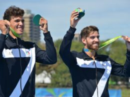 I due canottieri di bronzo
